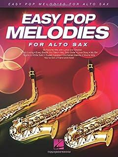 Easy Pop Melodies: for Alto Sax