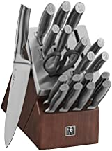HENCKELS J.A International Graphite 20-pc Self-Sharpening Block Set, Brown, Silver