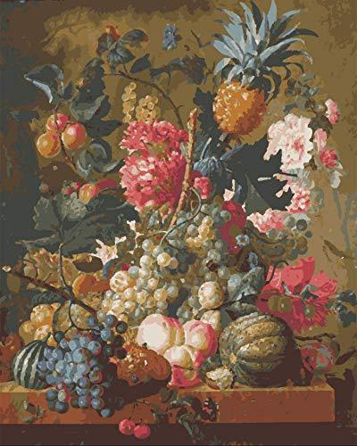 Pintura Al Óleo Digital Pintura Colorida Fruta Decoración Del Hogar Regalos De Regalo De Bricolaje