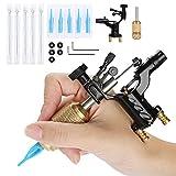 Kit de herramientas de tatuaje profesional Liner Needle Kit Accesorios de máquina de tatuaje Set Máquina de tatuaje rotativa con cartucho de fuente de alimentación Agujas para tatuador