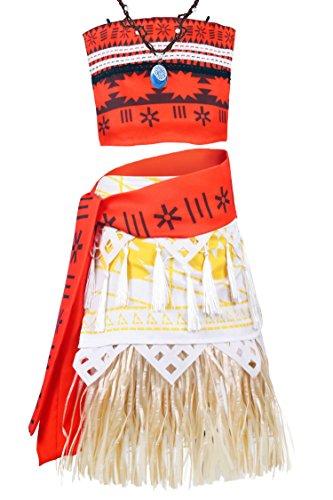 Wenge Halloween Cosplay Costume Skirt Set Costume for Girls Women Cosplay Dress up 9-10 Years