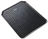 Alfombra de goma universal WALSER, alfombra antideslizante cortada a medida, alfombra antideslizante en forma de panal, alfombra de goma para automóviles 53x41 cm 14941