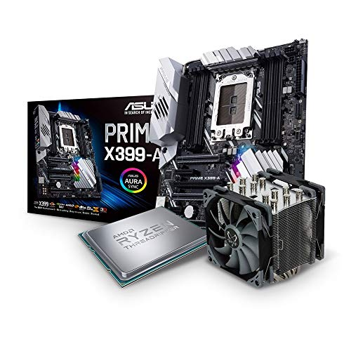 Aufrüst Set AMD ThreadRipper bis 2950X (16Kerner, bis 4.4GHz Turbo) | bis 128GB DDR4 | Komponenten frei wählbar | PC Aufrüst Bundle komplett vormontiert und getestet [182253]
