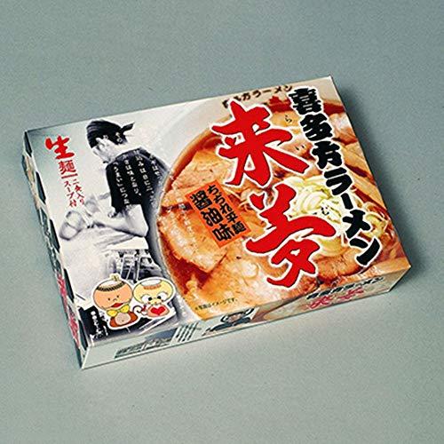 ご当地名店ラーメンミニ ご当地名店ラーメン ミニ 喜多方ラーメン 来夢 小 10箱×3合
