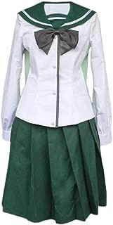 CHIUS Cosplay Costume School Uniform for Busujima Saeko Miyamoto Rei Version 2