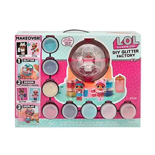 L.O.L Surprise! 556299 L.O.L. Sorpresa DIY Glitter Station, multicolore