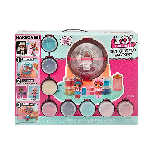 L.O.L Surprise! 556299 L.O.L. Sorpresa DIY Glitter Station, multicolore