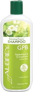 Aubrey GPB Balancing Protein Shampoo, Aloe & Shea Butter, 11oz