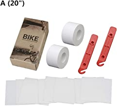 Hardli 1 Set Bicycle Tire Liner Puncture Proof Belt, Bike Inner Tube Protection Pad for 20