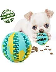 gudong elota de Juguete Resistente a la mordedura para Perros Cachorros, Peluche de Comida para Perros Alimentador Juguete Pelota de Limpieza de Dientes, Juguete para Masticar Perro Bola (Multicolor)