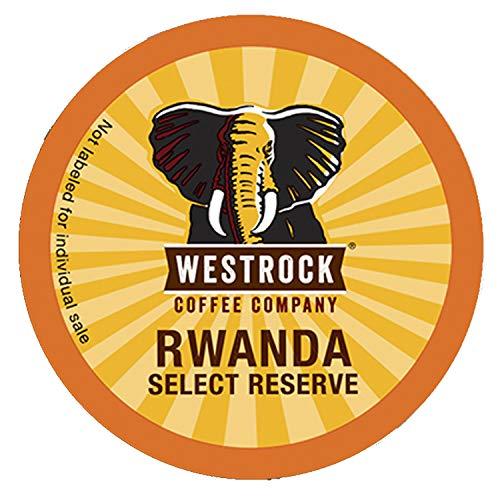 Westrock Coffee Company, Rwanda Select Reserve, Single Serve Coffee Cup, Dark Roasted (12)