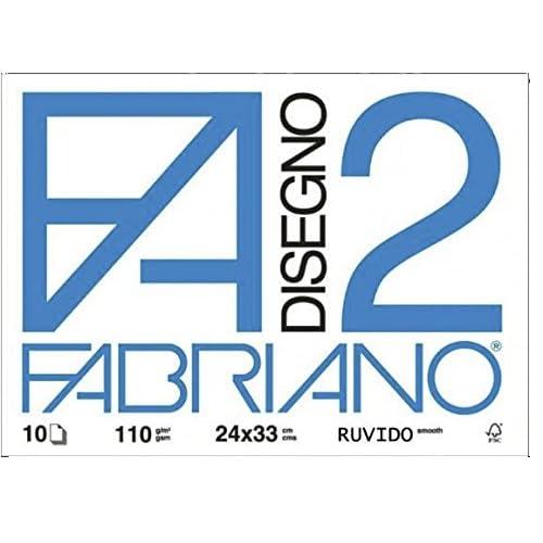Viscio Trading 122861 Album Fabriano, Carta, Bianco, 2x33x24 cm, 10 unità