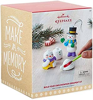 Hallmark Keepsake Build-Your-Own Snowman DIY Ornament Kit