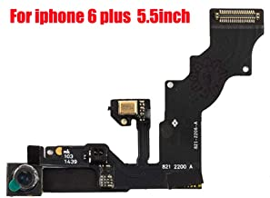 Afeax Compatible with OEM Front Facing Camera Flex Cable with Sensor Proximity Light and Microphone Flex Cable Replacement for iPhone 6 Plus 5.5inch