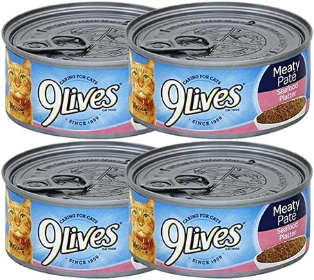 Max 62% OFF Canned Cat Seafood Platter Rare Provides Nutrit Complete Balanced and