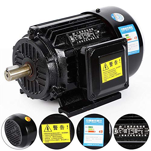 DiLiBee Elektromotor 3-phas Elektromotor 2.2kW/1.5KW Motor Drehstrommotor 2800U/min/B3 Kraftstrommotor (1.5KW)