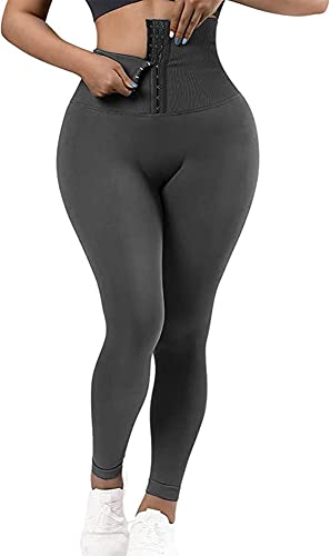 2021 RIOJOY Corset Leggings Three-Row High Waist Tummy Control Slimming Leggings Sexy online Push Up online Pant outlet online sale