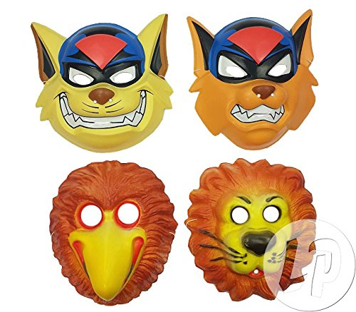 Fiesta Palace - masque coque animaux enfant mix-8
