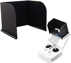 PGYTECH quadcopter monitor HOOD Remote Controller Phone Monitor Sun hood Smartphone Tablet iPad Sun Shade Sunshade Cover Hood for DJI Mavic pro Phantom 3 4 pro Inspire M600 OSMO products (9.7 inch, Bl