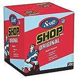 Scott Blue Shop Towels in a Box - 200 Sheets