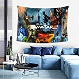 Avatar The Last Airbender Anime Wall Hanging Tapestry 40 x 60 Inch 3D Printing Wall Anime Poster Bedroom Living Room Dorm Party Decorations