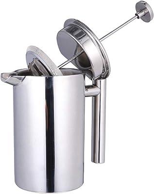 Amazon.com: Cafetera de prensa francesa, 8 tazas (1 litro ...