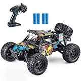 Fcoreey Remote Control Car, RC Trucks for Adults 4x4 Off-Road 1:14 Scale 48km/H High-Speed RC Car,2.4 GHz All Terrain SUV,Included 2 Rechargeable Batteries,Toy Gifts for Boys and Adults