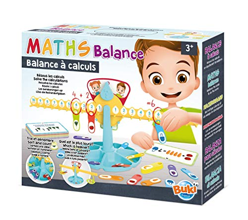 Buki France- Balance à calculs Balanza para cálculos, Color (5604)