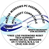 All Windows Professional PC Password UNLOCK REPAIR RECOVER RESET RECOVERY FIX DVD UTILITY SUITE Free Over The Phone Tech Support COMPATIBLE WITH MICROSOFT WINDOWS XP/7/VISTA/8/8.1/10
