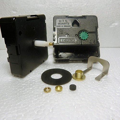 Repuesto de mecanismo para reloj de cuarzo UTS, eje Euro, (longitud del eje 20mm)