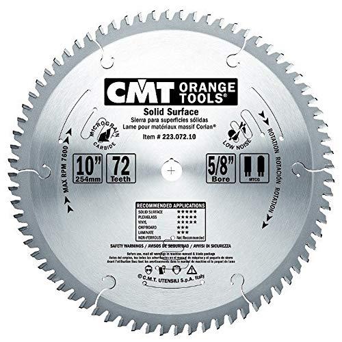 CMT Orange Tools 223,072.10 pour scie circulaire M-D 3.2 Corian 250 x 30 x 72 mtcg Z