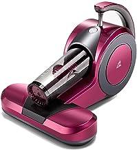 APENCHREN Milben-ręczny odkurzacz przeciwpyłowy/odkurzacz przeciwny, przenośna lampa UV – do poduszek, sof i dywanów, różowy