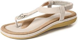 Women's Comfy Sandals, Comfort Slip On Summer's Sandals
