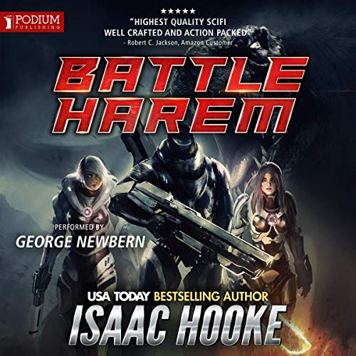 Battle Harem audiobook cover art