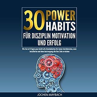 30 Power-Habits für Disziplin, Motivation und Erfolg Titelbild