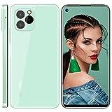 Telefonos Moviles Libres Baratos OUKITEL C21 Pro, 4GB+64GB (SD 256GB) 6,39 Pulgadas Android 11 Dual SIM Smartphone Oferta, 21MP+8MP Cámara 4000 mAh Batería Face/Fingerprint Unlock Móvil Verde