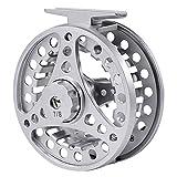 Carrete de pesca con mosca con cuerpo de aluminio 3/4-5/6-7/8 WT para pesca de agua dulce y agua salada (7/8)