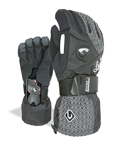 Level Damen Handschuhe Butterfly W, Dark, 6,5