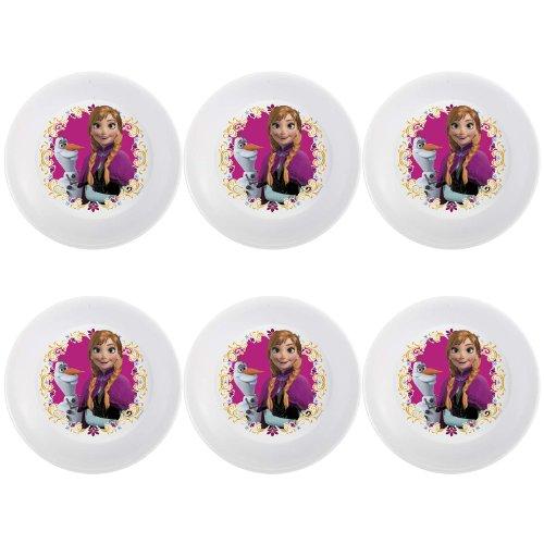 Zak! Designs Juego para comer de 3 piezas con Olaf y Sven de Frozen: Una aventura congelada