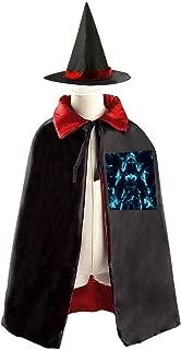 Destiny Hunter Children's Witch Cloak Robe Cape Hat Ghost Festival Costumes