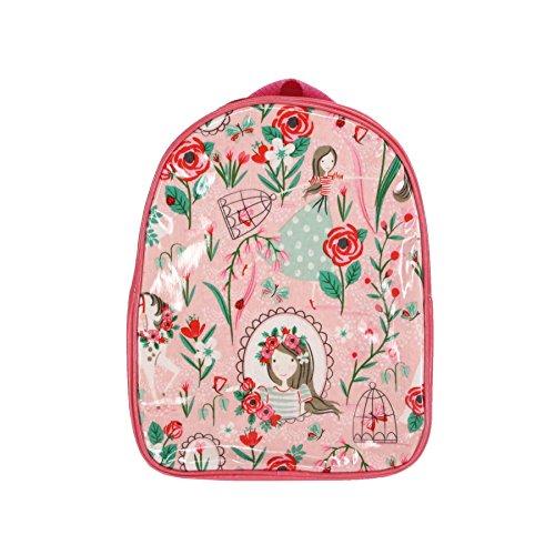 Pink Flower Girl & Unicorn zainetto Gisela Graham
