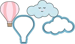 Hot Air Balloon Cookie Cutter Set - American Confections - Cloud - MADE IN THE USA