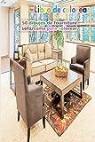 Libro de colorear 50 dibujos de fourniture sofá/cama para colorear: un buen libro de 6 x 9 pulgadas para pasatiempos, diversión, entretenimiento y ... adolescentes, adultos, hombres y mujeres