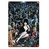 Elvira Horror-Film-Poster Horror-Figuren im Kino,