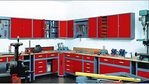 Küpper Hängeschrank 70187, made in Germany, 240x60x20cm - 4