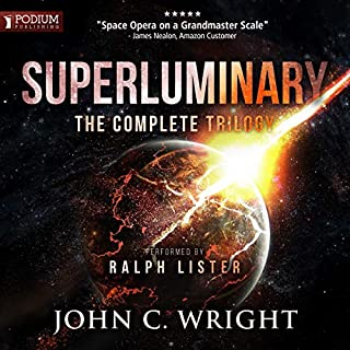 Superluminary audiobook cover art