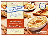 Thick and Easy Puree Maple Cinnamon French Toast, 7 Ounce -- 7 per case. by Hormel Healthlabs Pack of 10