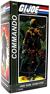 GI Joe Sideshow Collectibles 12 Inch Action Figure Commander Snake Eyes