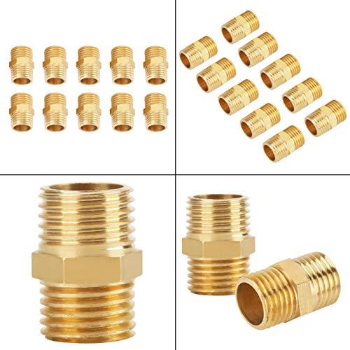Resistencia al desgaste 10 piezas 1/4 BSP Conector rápido, conexión de tubería del sistema de agua del grifo