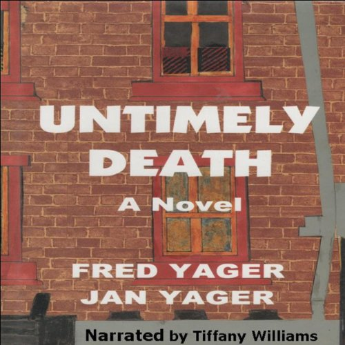 Untimely Death audiobook cover art
